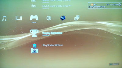 PlayStation XMB Fade