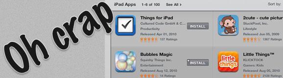 iPad App Store Pricing Error